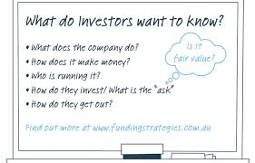 What do investors want to know?
